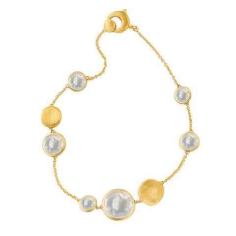 18K Jaipur Mother of Pearl Bracelet - BB1485 MPW Y-Marco Bicego-Renee Taylor Gallery