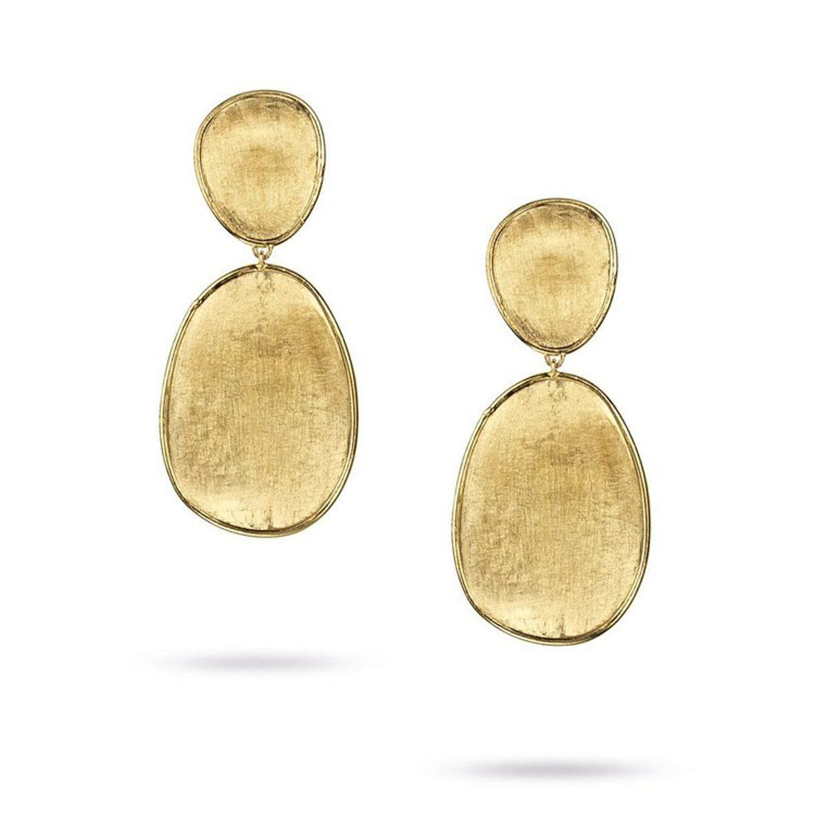 Lunaria Small Double Drop Earrings - OB1345 Y-Marco Bicego-Renee Taylor Gallery