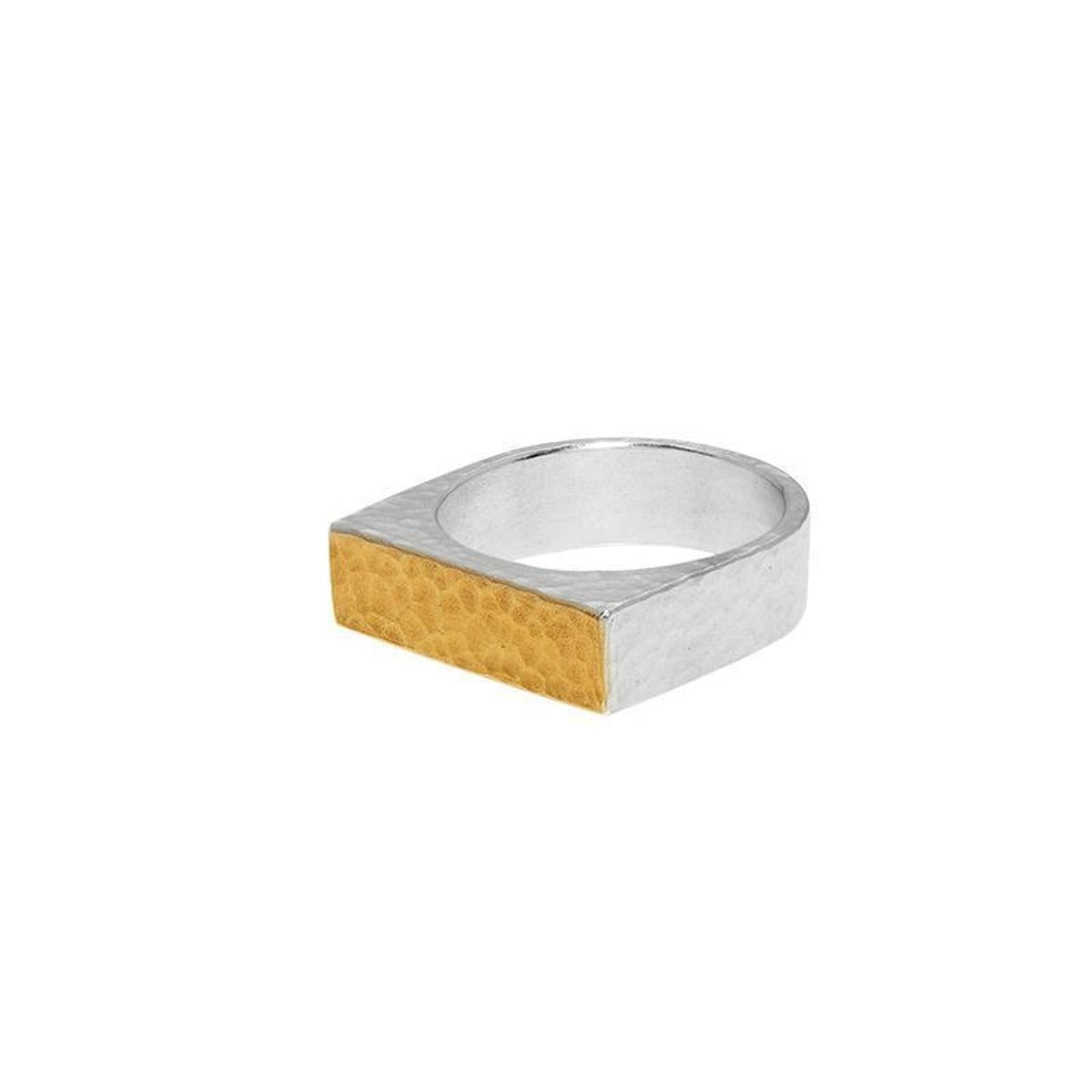 Gold Small Flat Mango Ring - SR-RTMN-195-G-GURHAN-Renee Taylor Gallery