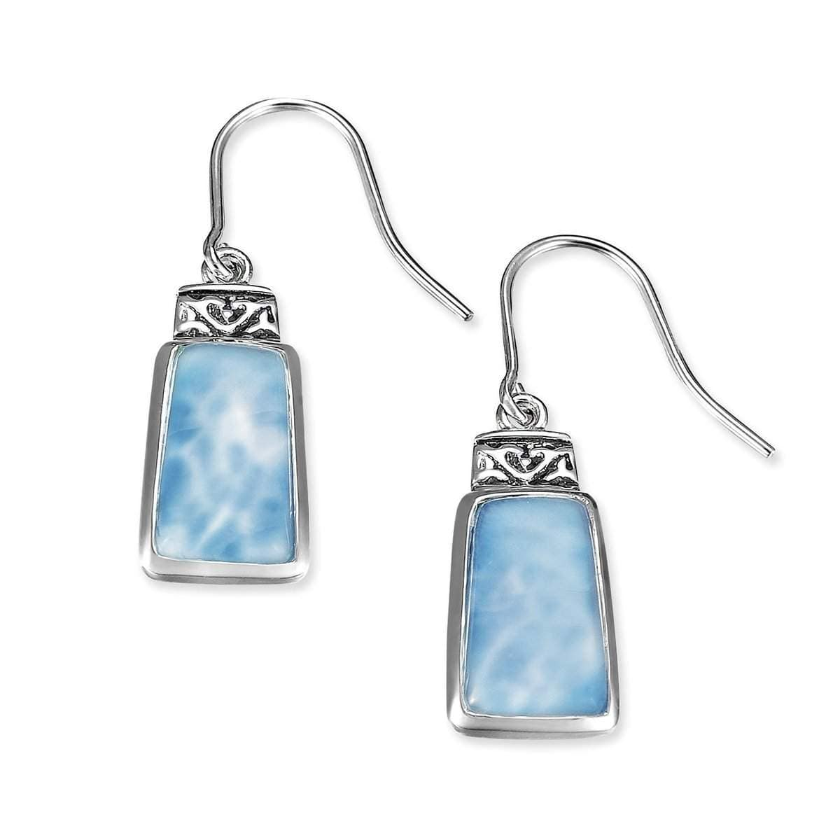 Hanna Earrings - Ehann00-00 - Marahlago Larimar