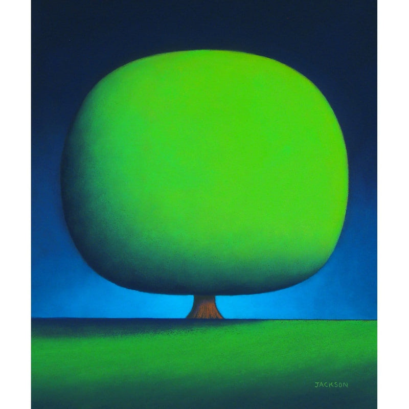"""Happy Green Tree""-Christopher Jackson-Renee Taylor Gallery"