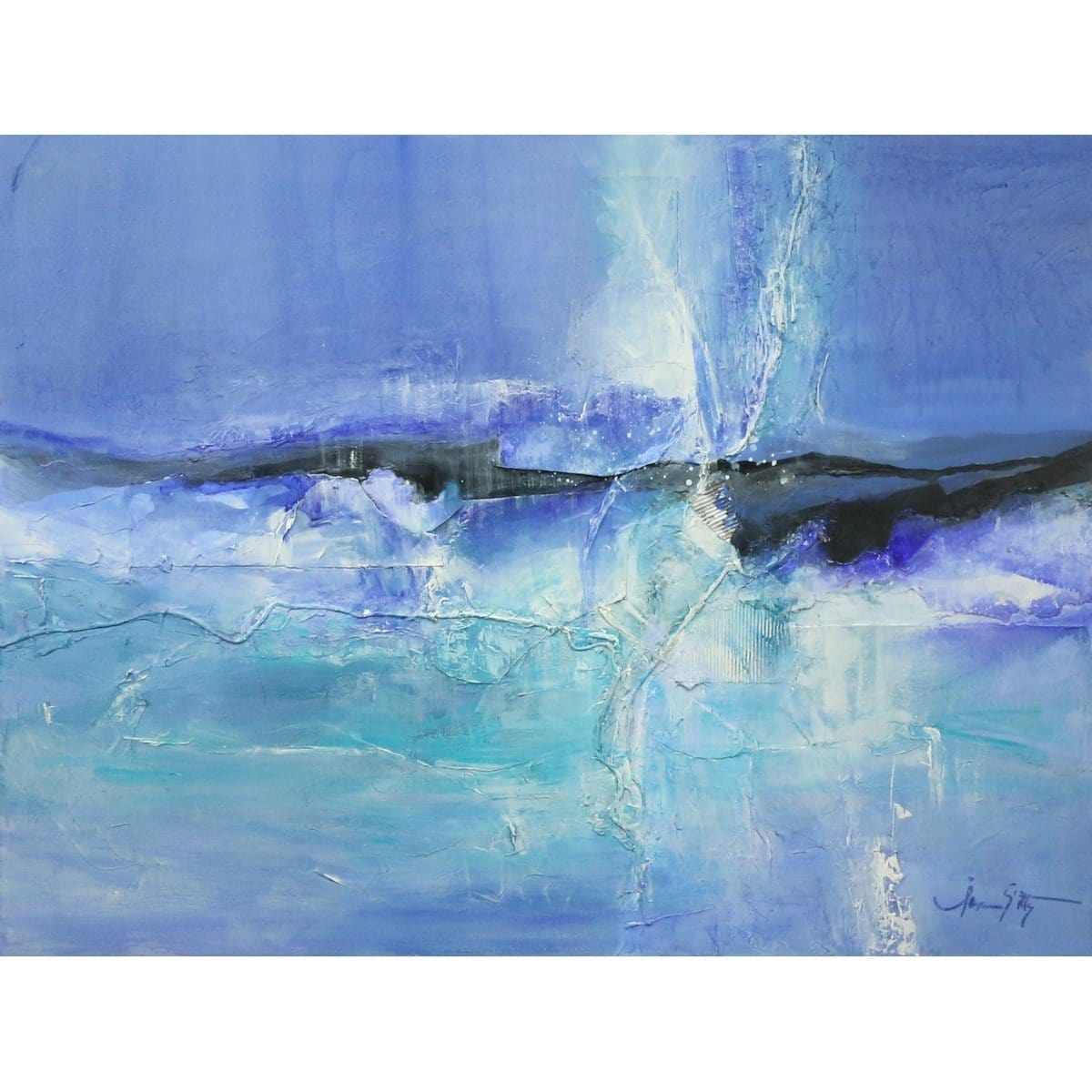 """Icebreaker""-Jan Sitts-Renee Taylor Gallery"