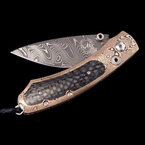Kestrel Raven Limited Edition Knife - B09 RAVEN-William Henry-Renee Taylor Gallery
