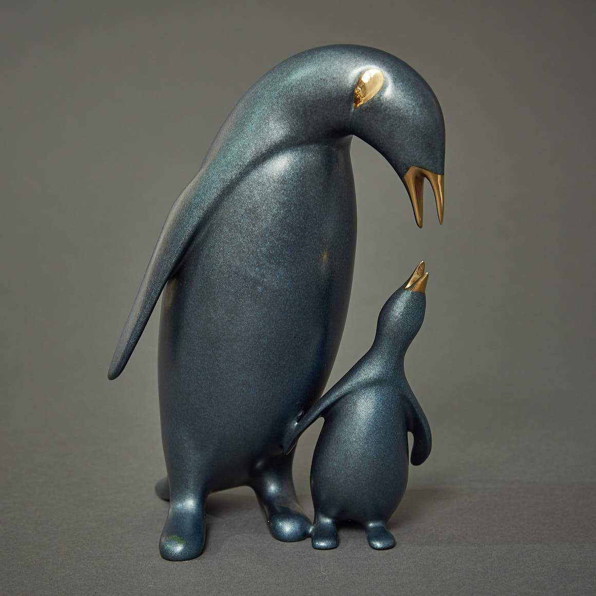 """King Penguin & Baby"""