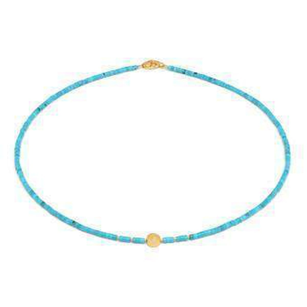 Kiria Turquoise Necklace - 80920256-Bernd Wolf-Renee Taylor Gallery