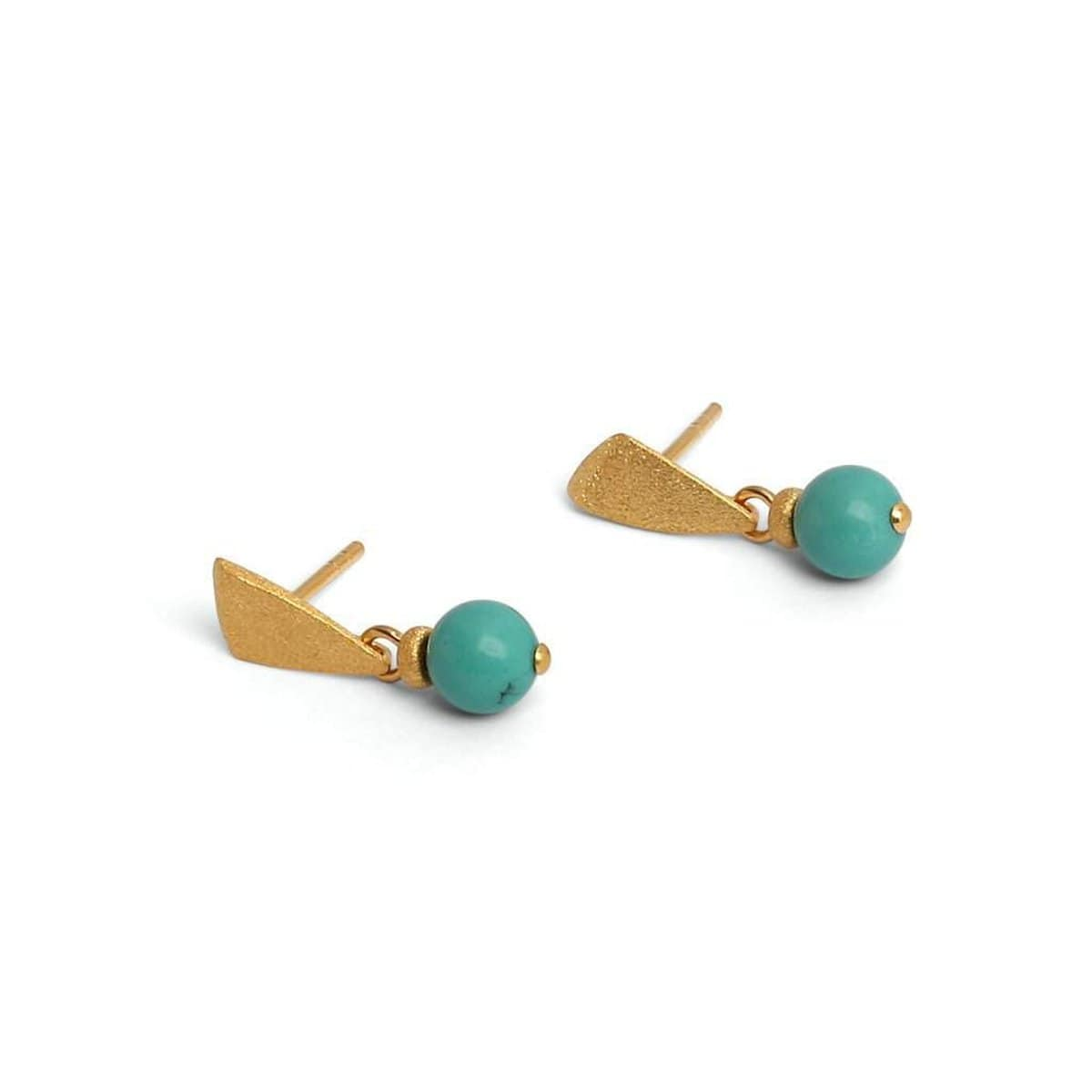 Kite Turquoise Earrings - 15511256