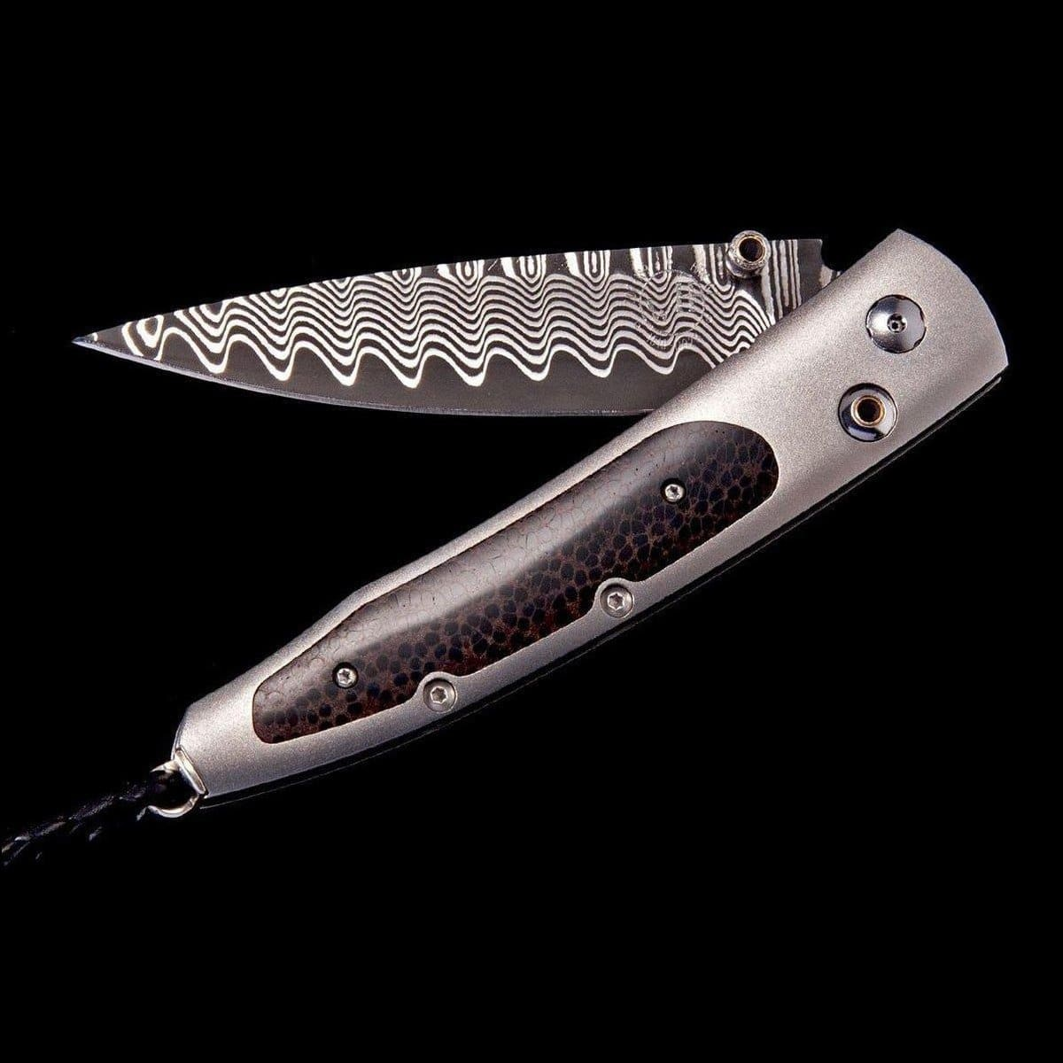 Lancet Island Wave Limited Edition Knife - B10 ISLAND WAVE-William Henry-Renee Taylor Gallery