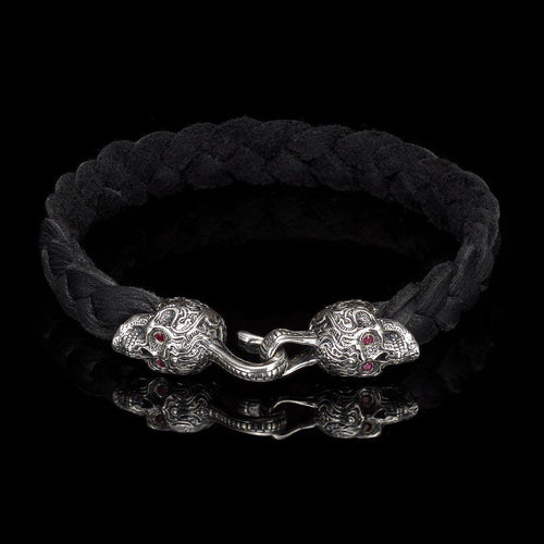 Men's Black Jack Bracelet - LB7 BLK-William Henry-Renee Taylor Gallery