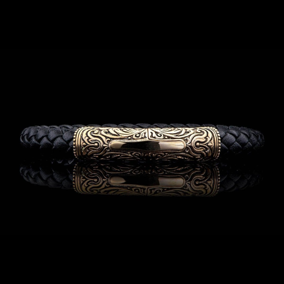 Men's Milan Bracelet - LC196 TBZ BLK-William Henry-Renee Taylor Gallery