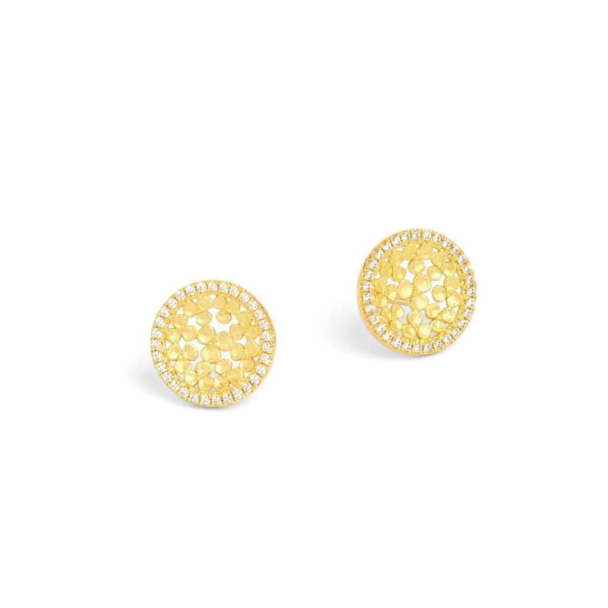 Leilini Zirconia Earrings - 19954156-Bernd Wolf-Renee Taylor Gallery