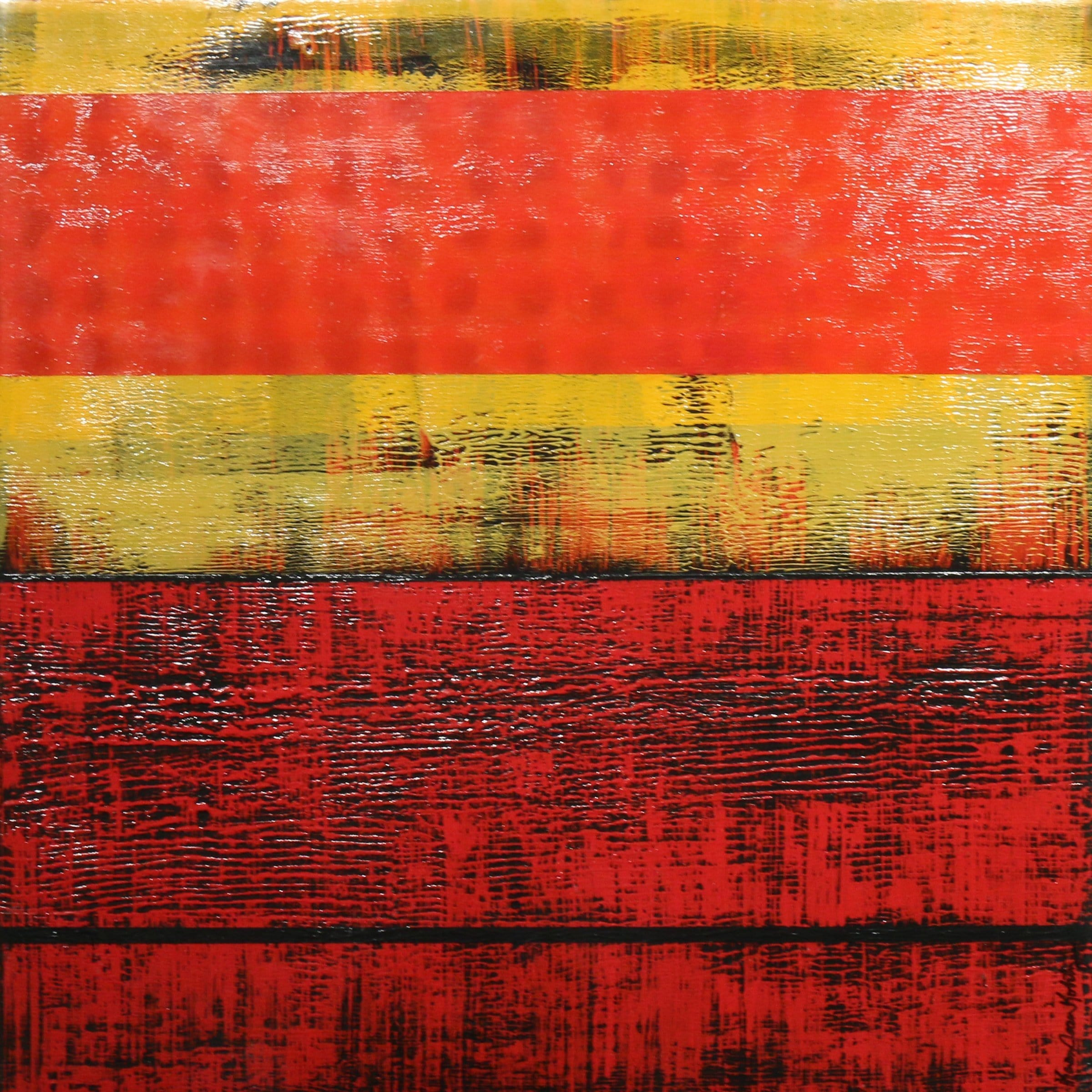 """Linear Flow in Red"""