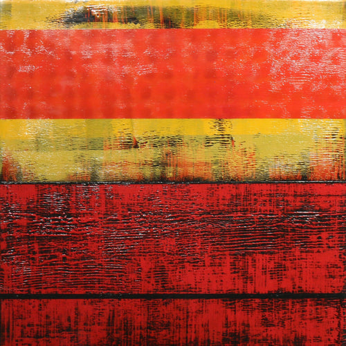"""Linear Flow in Red""-Karen Kohtz-Renee Taylor Gallery"