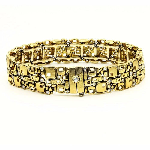 18K Little Windows Diamond Bracelet - B-31-Alex Sepkus-Renee Taylor Gallery