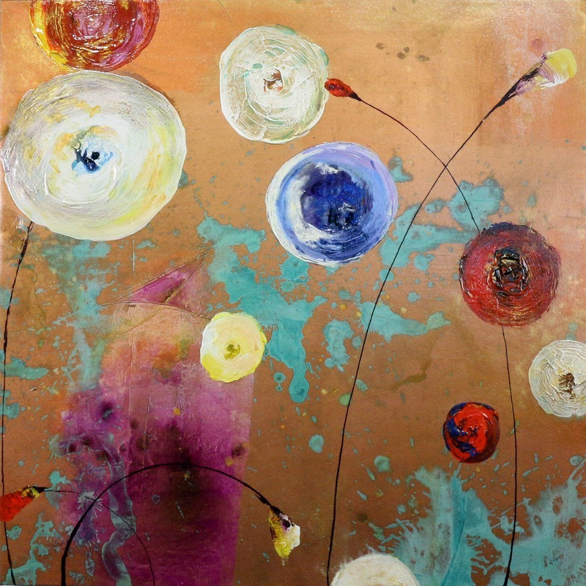 """LolliPOPS I""-Nancy Ngo-Renee Taylor Gallery"