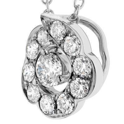 Lorelei Bloom Pendant - HFPLORBL00458W-Hearts on Fire-Renee Taylor Gallery