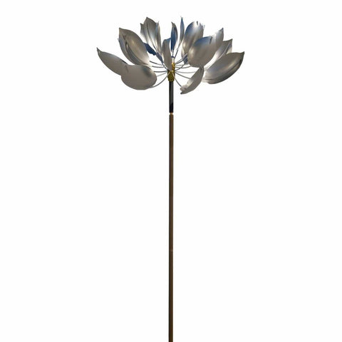 Lotus - Stainless Steel-Lyman Whitaker-Renee Taylor Gallery