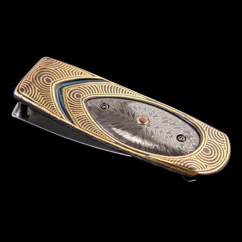 Geneva 'Finale' Limited Edition Money Clip - M1 'FINALE'-William Henry-Renee Taylor Gallery