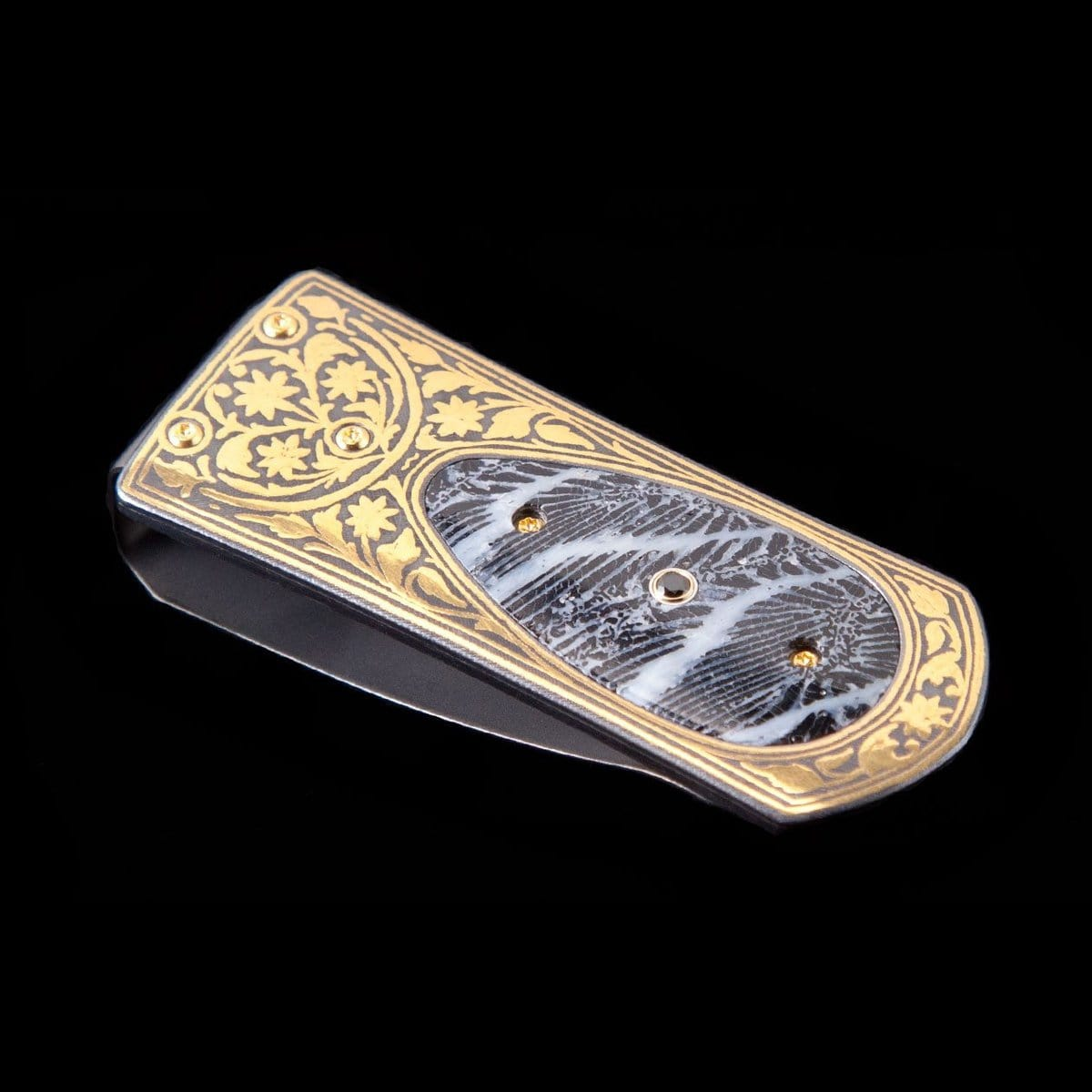 Zurich Cay Limited Edition Money Clip - M3 CAY-William Henry-Renee Taylor Gallery