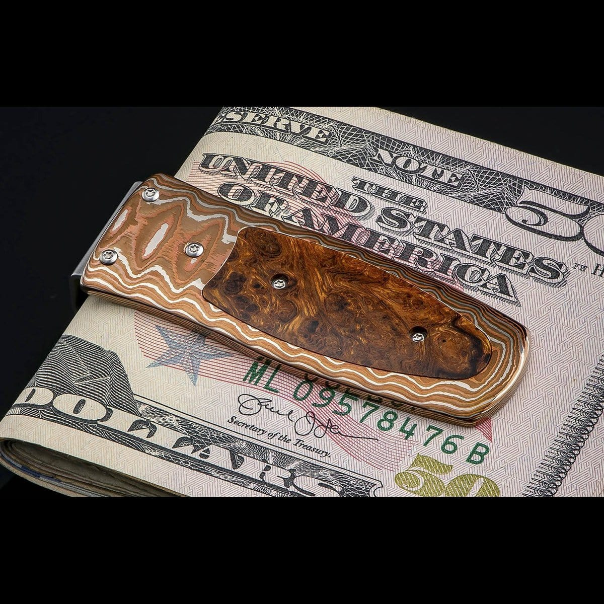 Pharaoh Taos Limited Edition Money Clip - M4 TAOS-William Henry-Renee Taylor Gallery
