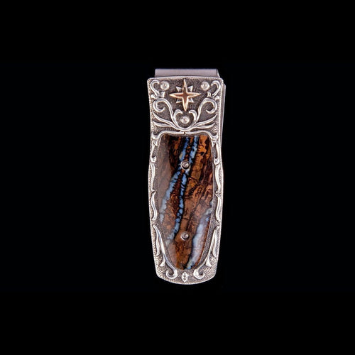 Pharaoh North Star Limited Edition Money Clip - M4 NORTH STAR-William Henry-Renee Taylor Gallery
