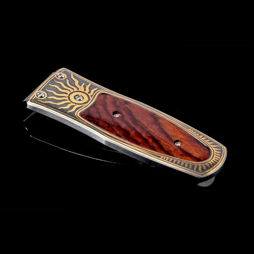 Pharaoh Red Sun Limited Edition Money Clip - M4 RED SUN-William Henry-Renee Taylor Gallery