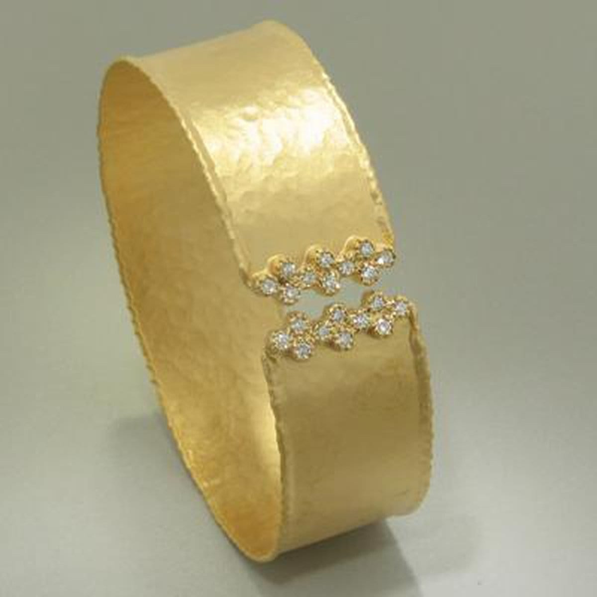 Marika Diamond & 14k Gold Cuff - M3986