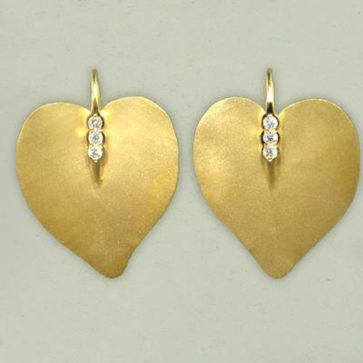 Marika Diamond & 14k Gold Earrings - M4222-Marika-Renee Taylor Gallery