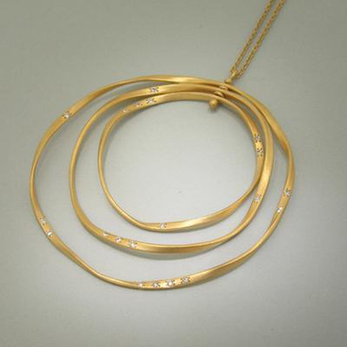 Marika Diamond & 14k Gold Necklace - M2536-Marika-Renee Taylor Gallery