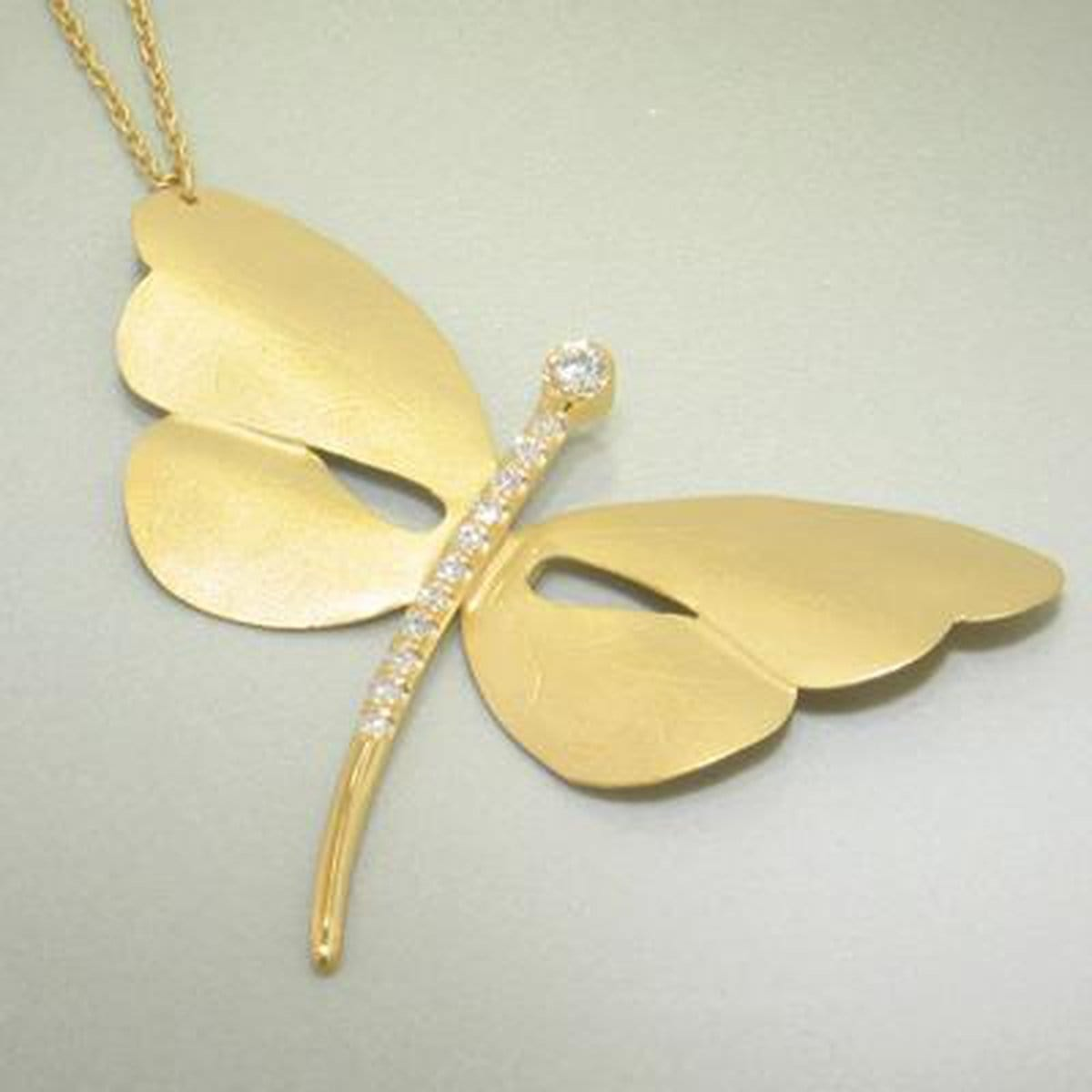 Marika Diamond & 14k Gold Necklace - M4125-Marika-Renee Taylor Gallery