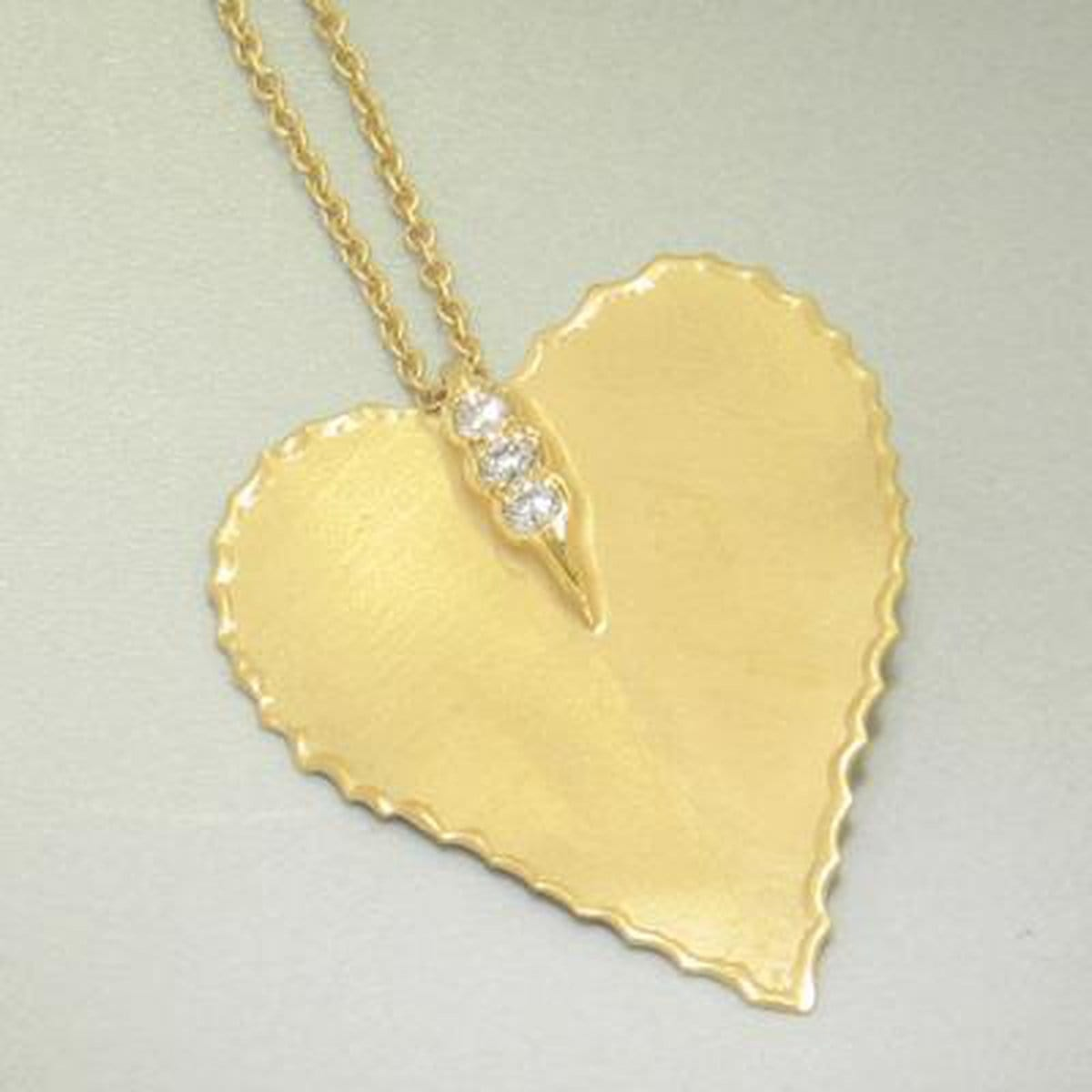 Marika Diamond & 14k Gold Necklace - M4230-Marika-Renee Taylor Gallery