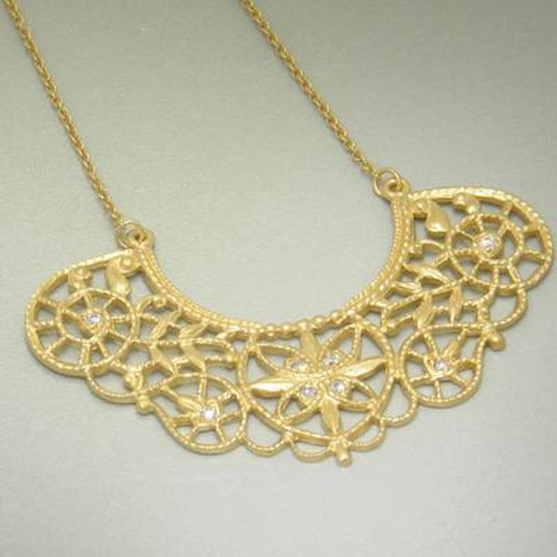 Marika Diamond & 14k Gold Necklace - MA4579-Marika-Renee Taylor Gallery