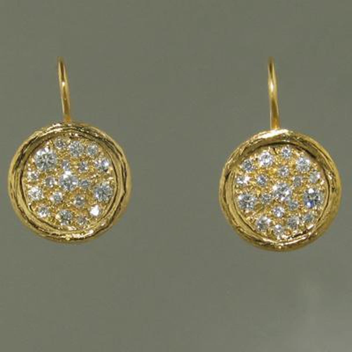 Marika Diamond Earrings - M4195-Marika-Renee Taylor Gallery