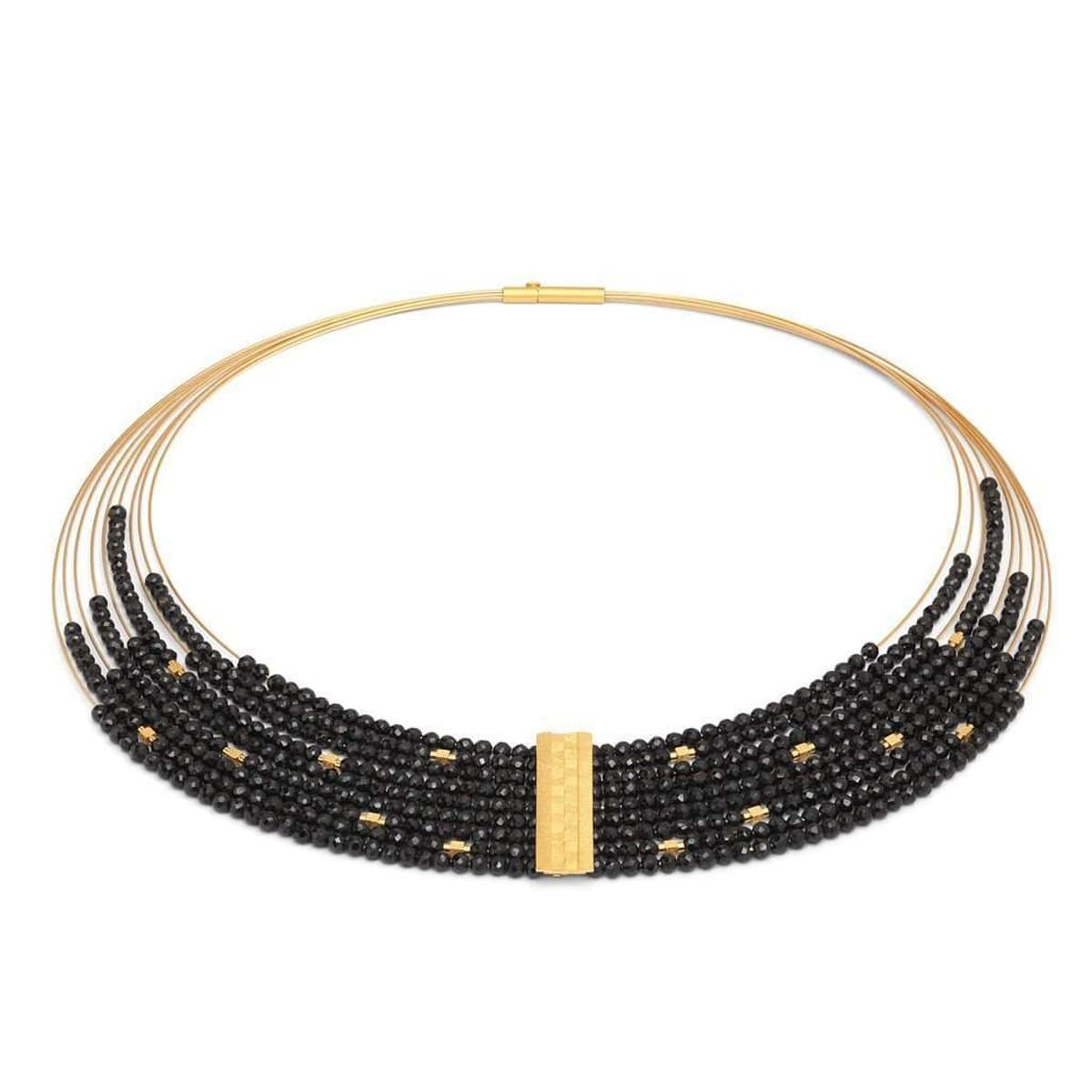 Maxifea Black Spinel Necklace - 85096496-Bernd Wolf-Renee Taylor Gallery