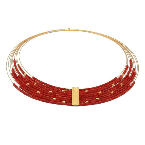 Maxifea Red Coral Necklace - 85096296 - Bernd Wolf