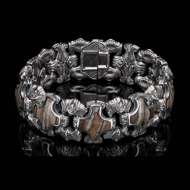 Men's Aleksius Bracelet - BR5S MT BR-William Henry-Renee Taylor Gallery