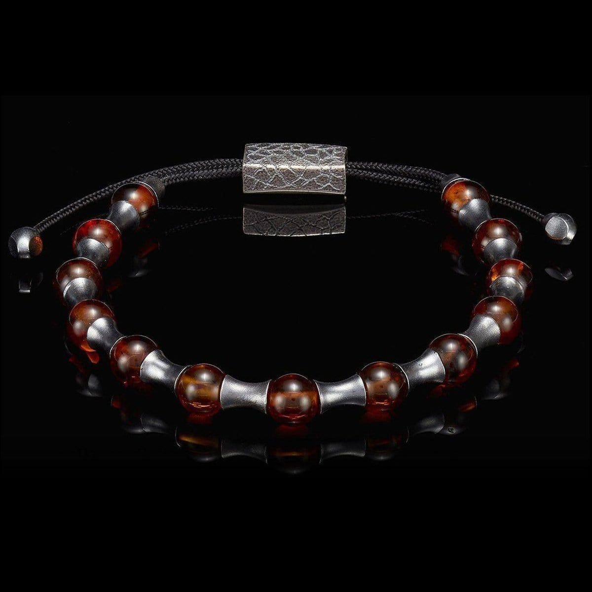 Men's Amber Summit Bracelet - BB18 AMB-William Henry-Renee Taylor Gallery