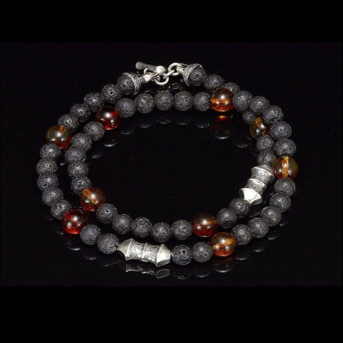 Men's Amber Tether Bracelet - BB20 AMB-William Henry-Renee Taylor Gallery