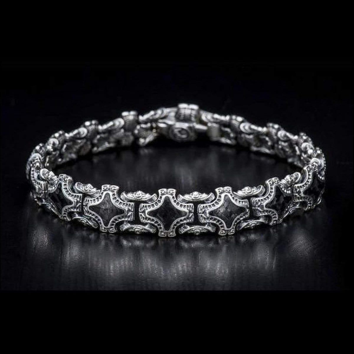 Men's Athos Bracelet - BR1S CF-William Henry-Renee Taylor Gallery