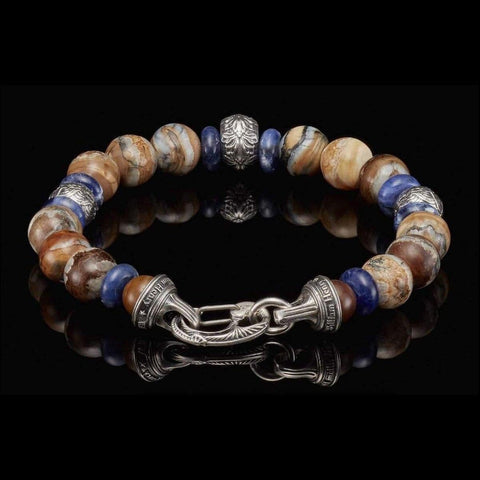Men's Boots and Denim Bracelet - BB9 MT-William Henry-Renee Taylor Gallery