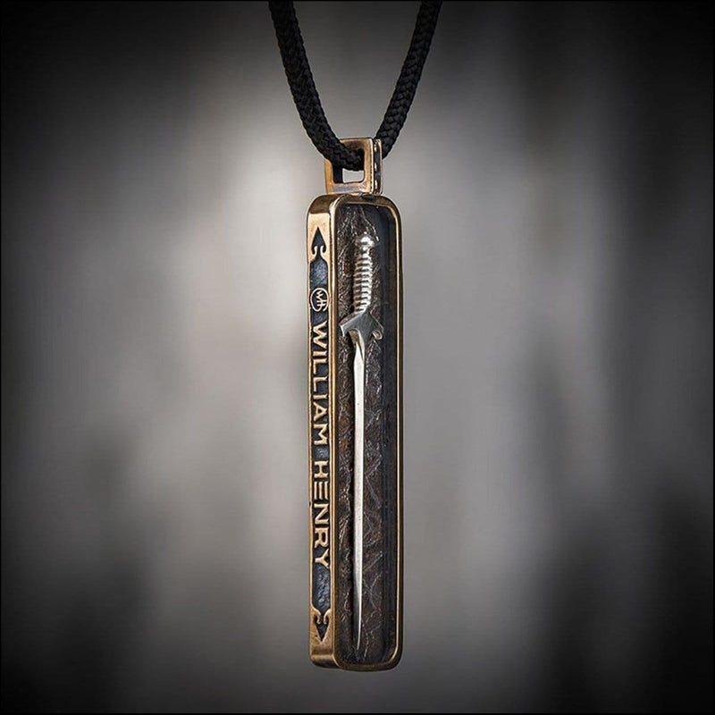Men's Defender Sword Necklace - P40-William Henry-Renee Taylor Gallery