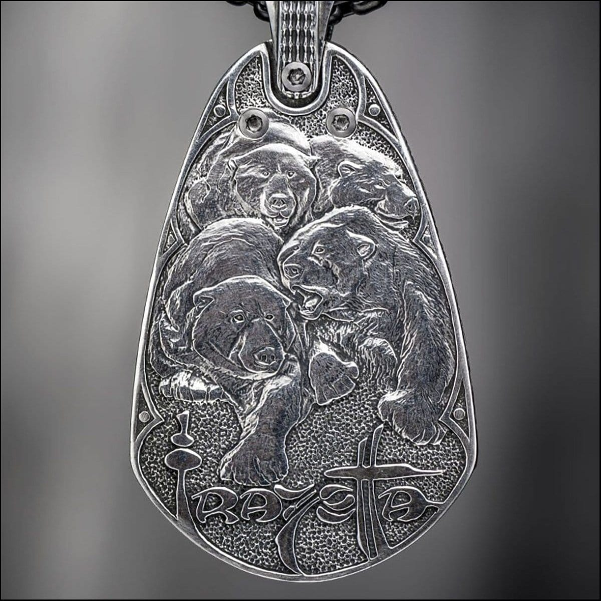 Men's Guardians Necklace - P37-William Henry-Renee Taylor Gallery