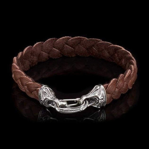 Men's Hunter Bracelet - LB8 BRN-William Henry-Renee Taylor Gallery