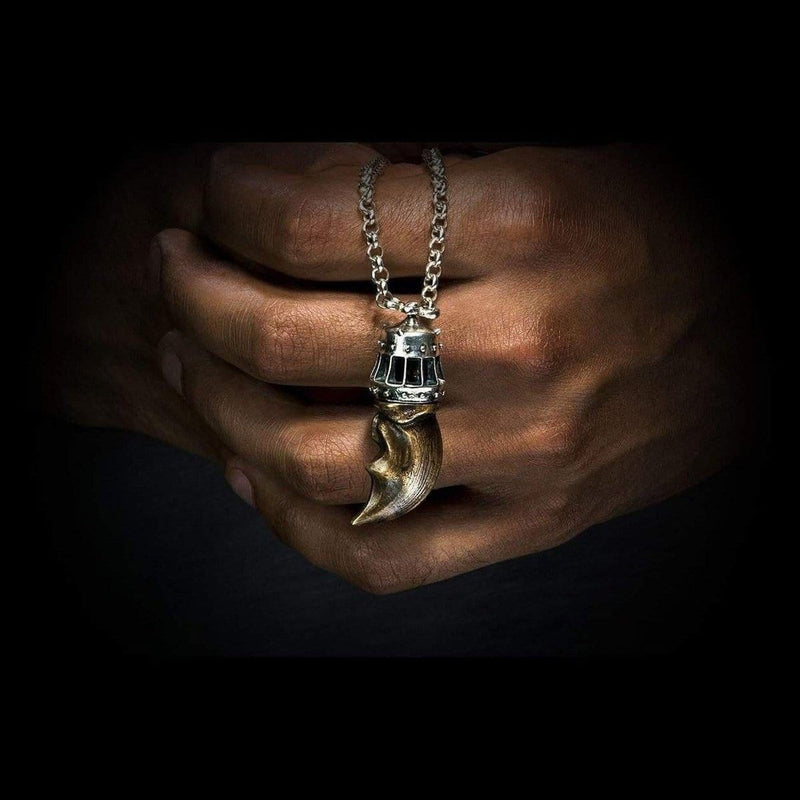 Men's King Claw Necklace - P38-William Henry-Renee Taylor Gallery