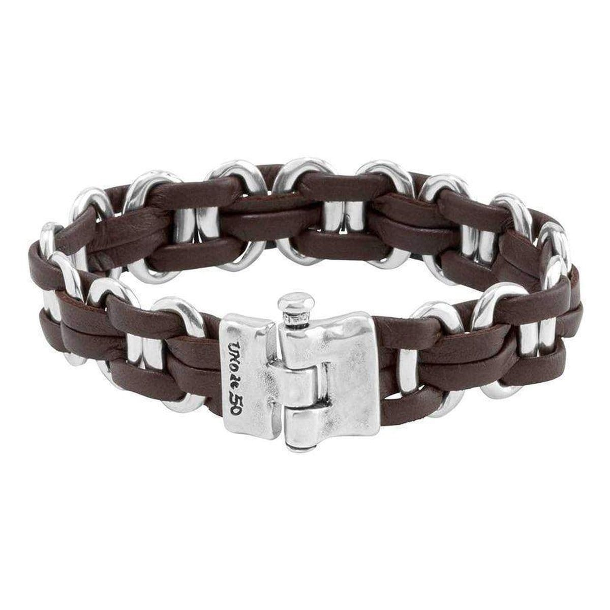 Men's Linked Bracelet - PUL1490MTLMAR0L-UNO de 50-Renee Taylor Gallery