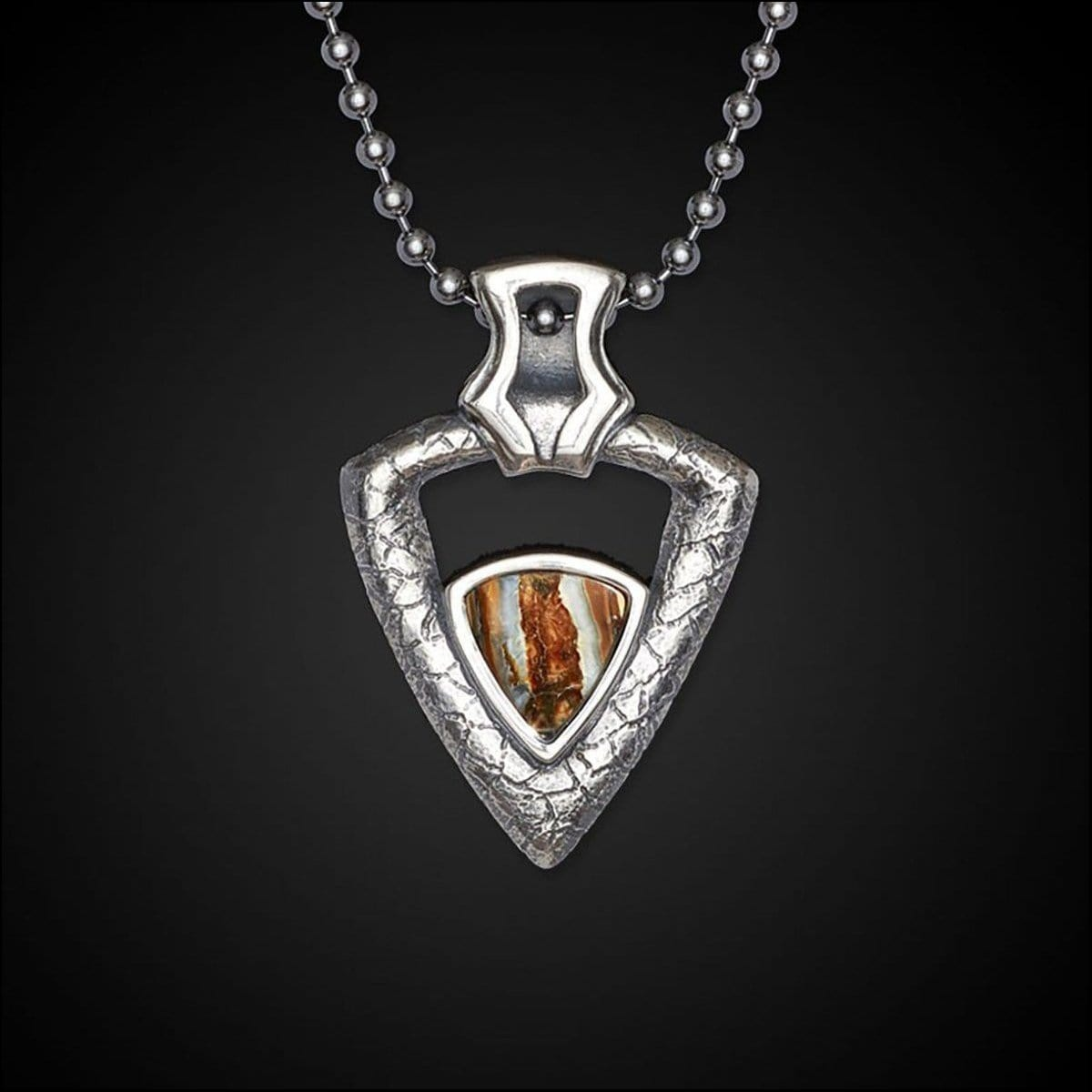 Men's Mammoth Fervor Necklace - P28 MT RB-William Henry-Renee Taylor Gallery