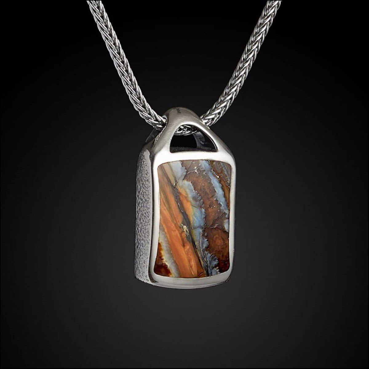 Men's Mammoth Spark Necklace - P27 MT BR - William Henry