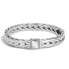 Modern Chain Men's Silver Medium Bracelet - BM999975-John Hardy-Renee Taylor Gallery