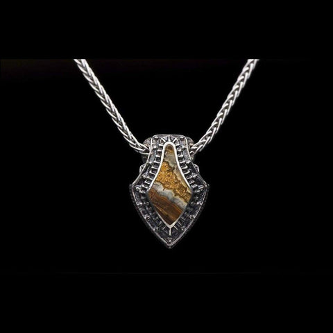 Men's Pike Necklace - P4 MT BR-William Henry-Renee Taylor Gallery