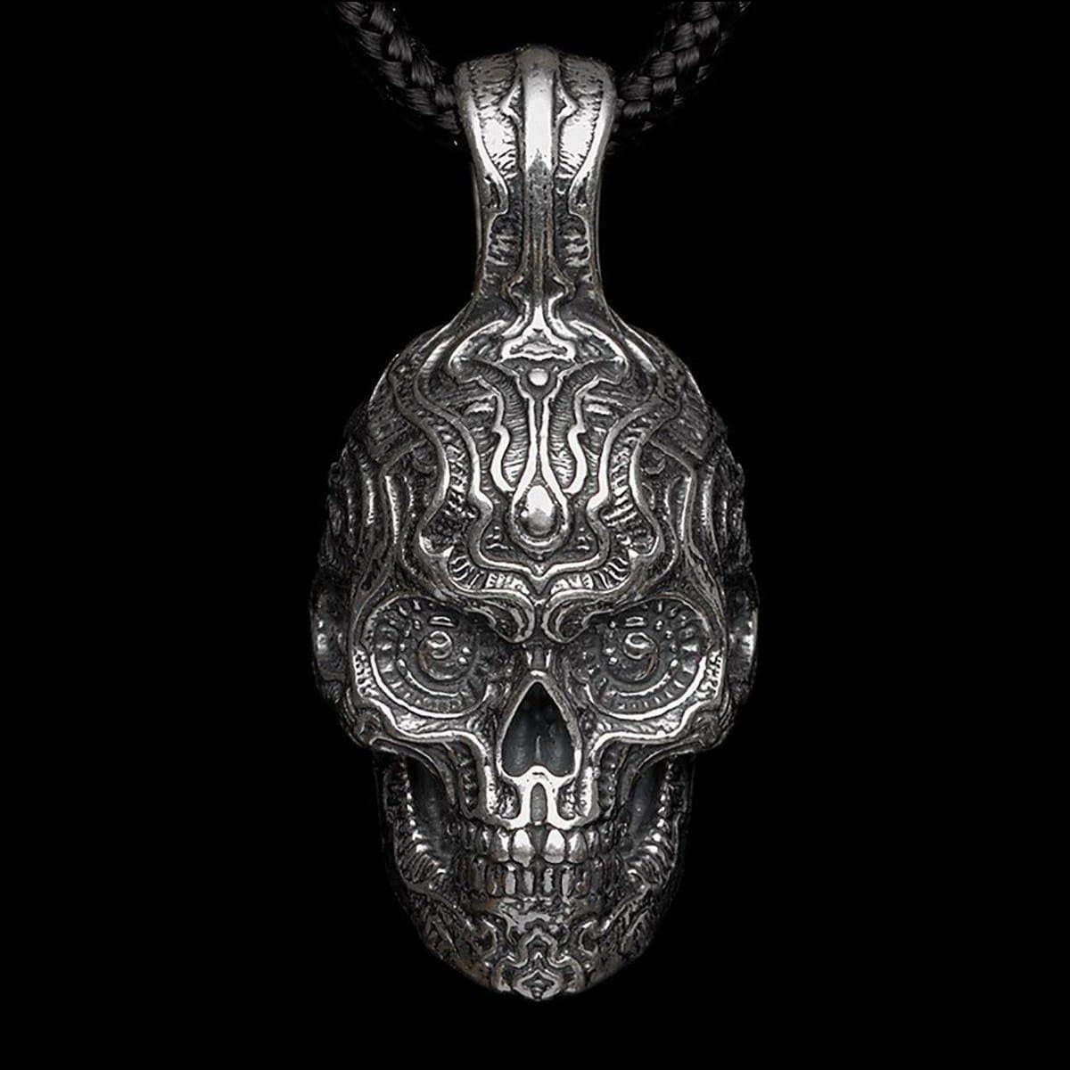 Men's Renegade Skull Necklace - P5 - William Henry