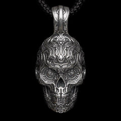 Men's Renegade Skull Necklace - P5-William Henry-Renee Taylor Gallery